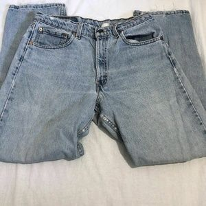 Levis Denim Jeans 550 Relaxed Fit Tapered Leg 33/3
